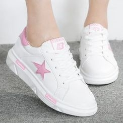 Renben - Star Lace Up Sneakers