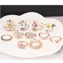 Coolgirl - 戒指 (各种设计)