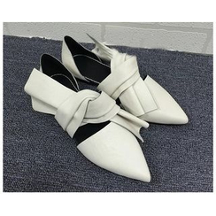 Chryse - Knotted Pointy Flats