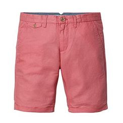 Simwood - Plain Linen Cotton Shorts