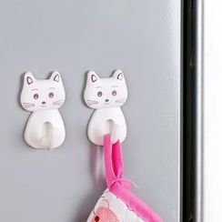 Yulu - Set of 3: Cat Wall Hook
