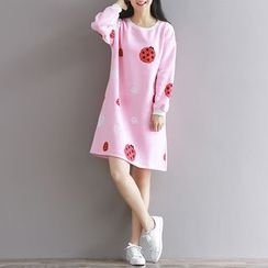 Fancy Show - Printed Pullover Dress