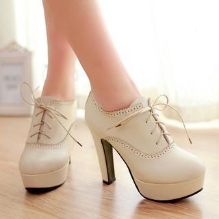 Shoes Galore - Platform Oxfords