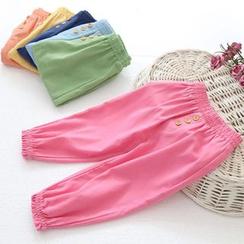 Seashells Kids - Kids Linen Cotton Pants