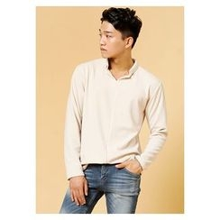 HOTBOOM - Plain Placket Top