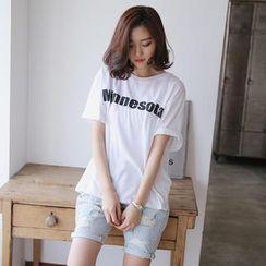 Envy Look - Short-Sleeved Print T-Shirt