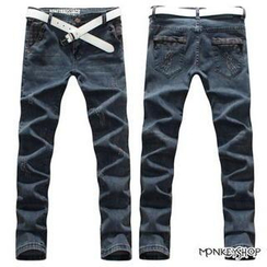 Monkey Shop - Distressed Jeans