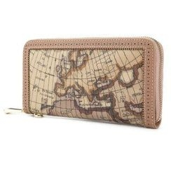 O.SA - Map-Print Perforated Wallet