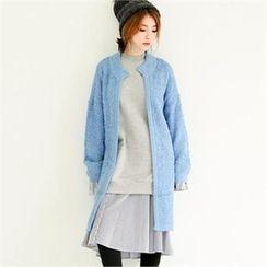 GLAM12 - Wool Long Cardigan