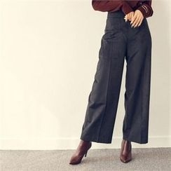 MAGJAY - High-Waist Wide-Leg Pants