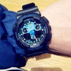 Ricordo - Digital Silicone Strap Watch