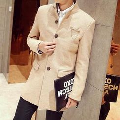 Bay Go Mall - Wool Blend Coat