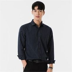 STYLEMAN - Long-Sleeve Stripe Shirt