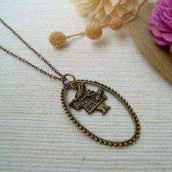 MyLittleThing - Teardrop Mr. Rabbit Necklace