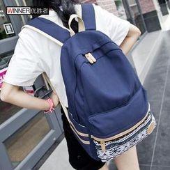 VIVA - Pattern Canvas Backpack