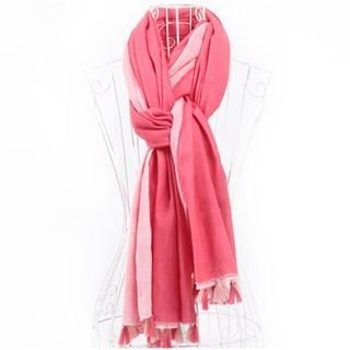 RGLT Scarves - Tasseled Cotton Scarf