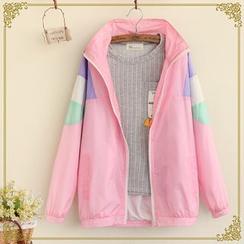 Fairyland - Colour Block Zip Jacket