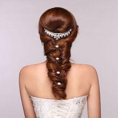 Suaylla - Pearl Embellished Tiara