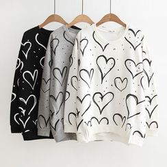 Angel Love - Printed Sweatshirt