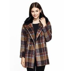 O.SA - Plaid Coat