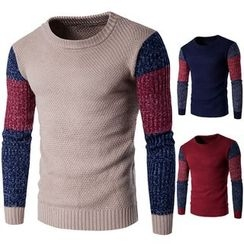 Constein - Color Panel Sweater