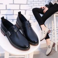BARCA - Buckled Loafers