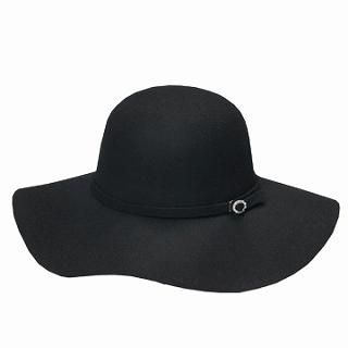 GRACE - Wide-Brim Wool Hat