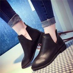 Yoflap - Slit Short Boots