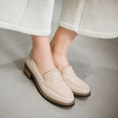 Pastel Pairs - Brogue Loafers