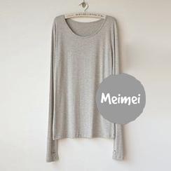 Meimei - 手指袖長袖T恤