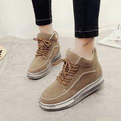 EMIL - Hidden Wedge High-Top Sneakers