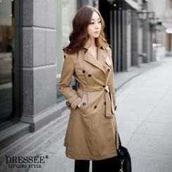 DRESSEE - Trench Coat with Belt