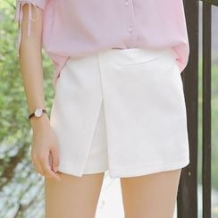 Dimosqisi - 高腰闊腿短裙褲