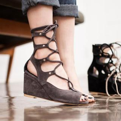 VIVIER - Gladiator Wedge Sandals