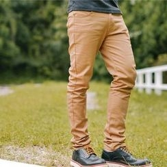 SeventyAge - Cotton Blend Skinny Pants