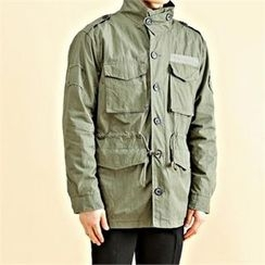 THE COVER - Epaulet Dual-Pocket Parka
