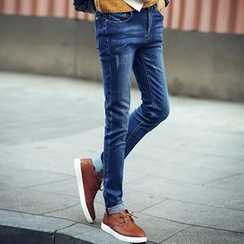Consto - Washed Skinny Jeans