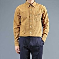 THE COVER - Pocket-Front Check Shirt