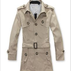 Free Shop - Belted Trench Coat