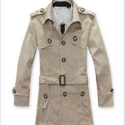 Imagine Men - Belted Trench Coat