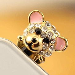 Fit-to-Kill - Little Bear iPhone Earphone Plug