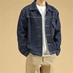 THE COVER - Washed Denim Jacket