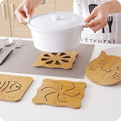 Cutie Pie - Bamboo Pot Mat