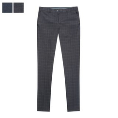 DANGOON - Graph-Check Tapered Dress Pants