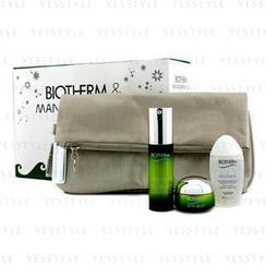 Biotherm 碧欧泉 - Skin Best Set: Skin Best Serum In Cream 30ml + Skin Best Cream SPF 15 15ml + Biosource Micellar Water 30ml + Bag