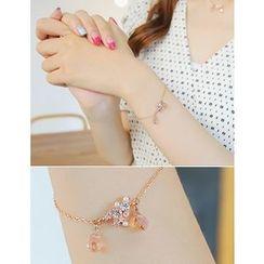 soo n soo - Embellished Metal Bracelet