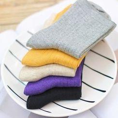 Socka - 抽条中筒袜