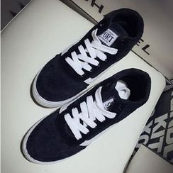 Zandy Shoes - Lace-Up Sneakers