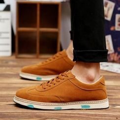 BINSHOU - Velvet Sneakers