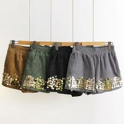 Musume - Sequined Shorts